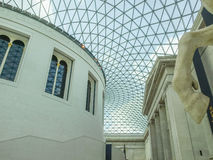 British Museum Great Court in London Stock Photos