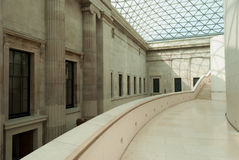 British museum hallway Royalty Free Stock Photography