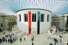 British Museum i London Royaltyfria Foton