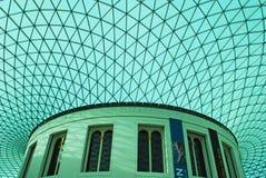 British Museum inomhus Royaltyfri Fotografi