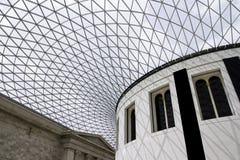 British museum. Inside the main chamber of the british museum stock photography