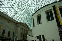 British Museum interior hall Stock Photography