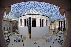 British Museum - la gran corte Imagen de archivo libre de regalías