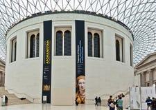 British Museum Londen Royalty-vrije Stock Fotografie