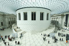 British Museum Londen Stock Fotografie