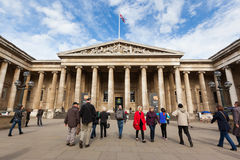 British Museum in Londen Stock Foto