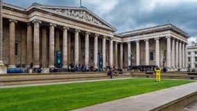 British Museum in Londen, Engeland Stock Afbeelding