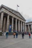 British Museum - Londen - Engeland Royalty-vrije Stock Foto's