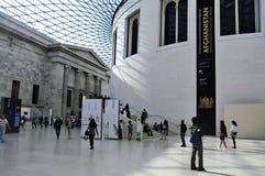 British Museum, Londen, het Verenigd Koninkrijk Royalty-vrije Stock Afbeeldingen