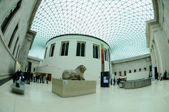 British Museum London Royalty Free Stock Photography