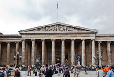 British Museum London Lizenzfreies Stockbild