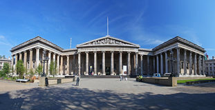 The British Museum in London Royalty Free Stock Photo