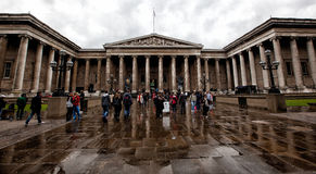 The British Museum in London Stock Images