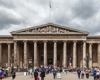 British Museum London England Stock Photography