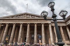 British Museum London England Royalty Free Stock Photography