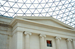 The British Museum in London, England Stock Image