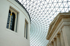 The British Museum in London, England.  Stock Images
