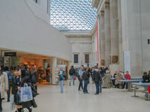 British Museum London Stock Photography