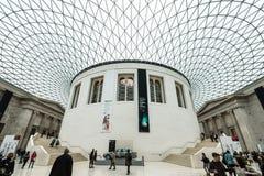 British Museum in London, Europe Stock Image