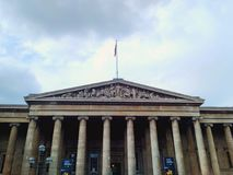 British Museum, London, Großbritannien Lizenzfreies Stockbild