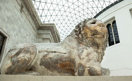 The British Museum London interior Royalty Free Stock Photography