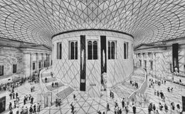 British Museum London stock photography