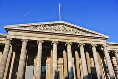 British Museum in London Royalty Free Stock Photo