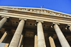 British Museum in London Stock Photography