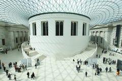 British Museum Londra Fotografia Stock