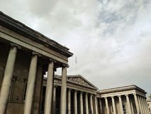British Museum, Londra, Inghilterra Fotografia Stock