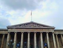 British Museum, Londra, Regno Unito Immagine Stock Libera da Diritti