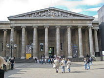 British Museum Londres Photos libres de droits