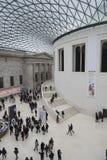 British Museum Londres Fotos de archivo libres de regalías