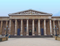 British Museum Londyn Obrazy Stock