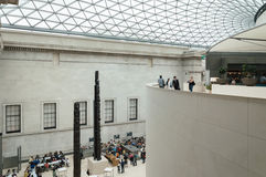 British Museum main court Royalty Free Stock Photo