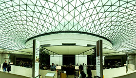 The British Museum main hall, London, UK Stock Photo