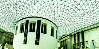 The British Museum main hall, London, UK Stock Photography
