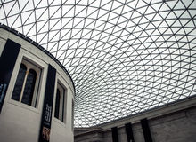 British Museum-Plafond Royalty-vrije Stock Foto
