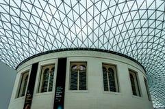 British Museum przy Londyn, Zlany królestwo zdjęcie stock