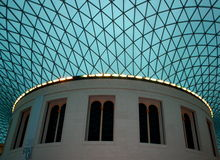 British museum roof. Stock Image