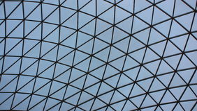 British museum roof Stock Photos