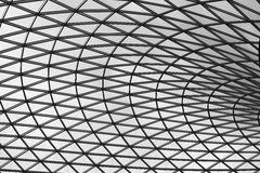 British Museum Roof Stock Image