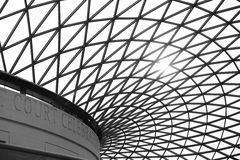 British Museum Roof, London Stock Photo
