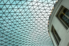 The British Museum - rotunda in atrium Stock Image