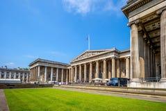 British Museum w Londyn, UK Zdjęcie Royalty Free