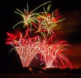 British Musical Firework Championships Royalty Free Stock Photography
