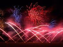 British Musical Firework Championships Stock Image