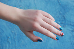 British nail Royalty Free Stock Photo