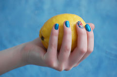 British nail Royalty Free Stock Photos