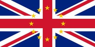British Flag of United Kingdom stock photo